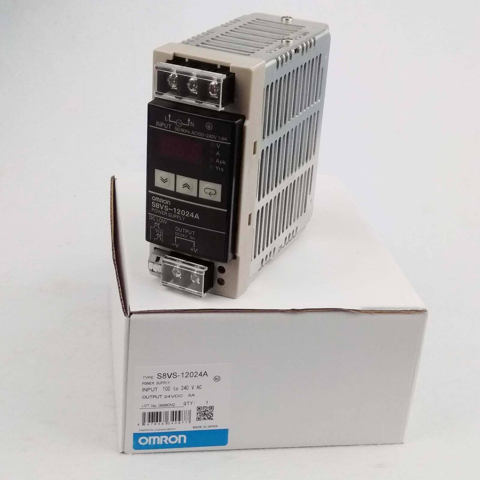New OMRON S8VS-12024A Switching Power Supply S8VS12024A A-04590