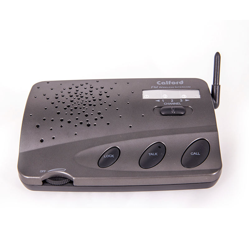 Home Security Office Communication Long Range FM Wireless Intercom System UHF Two way Radio