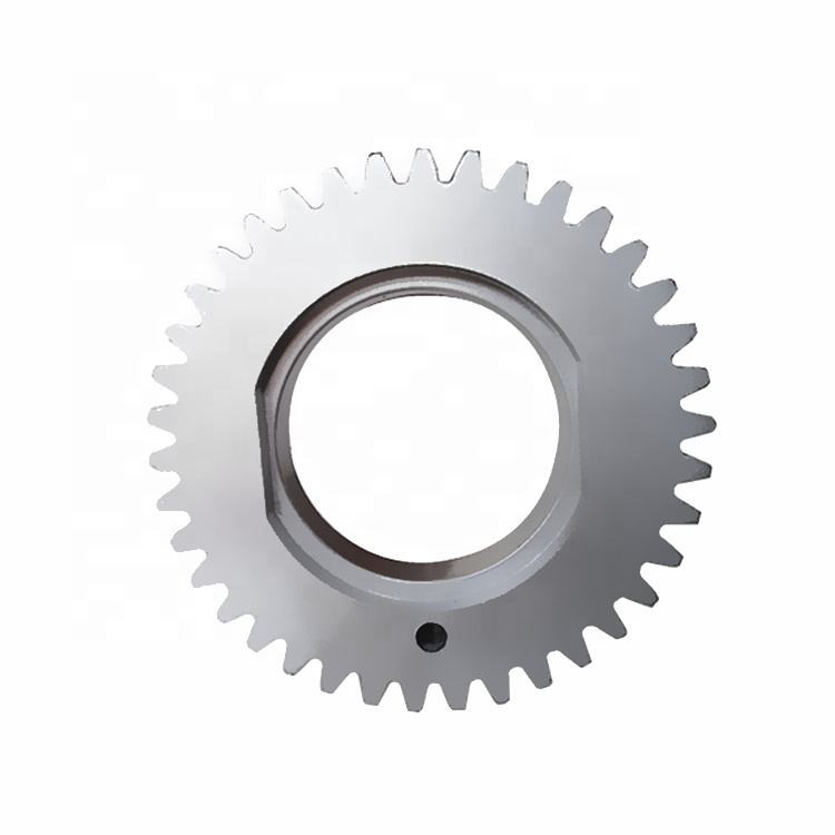 according to figure customized 38 tooth powder metallurgy spindle gear