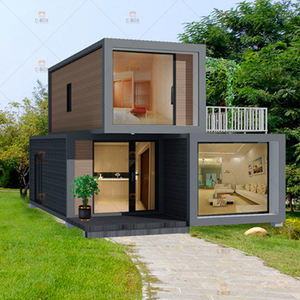 20ft Prefab Flat Pack Huis Draagbare Beweegbare Flat Pack Hotel Huis China