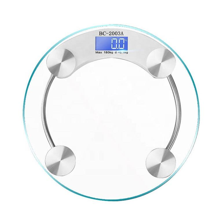 Waterproof 180kg Electronic Personal Body Weight Scale Digital human body weighing scale