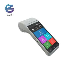 4G mobile POS system Z91 Handheld Smart Android 9.0 Pos Terminal with integrating barcode scanner