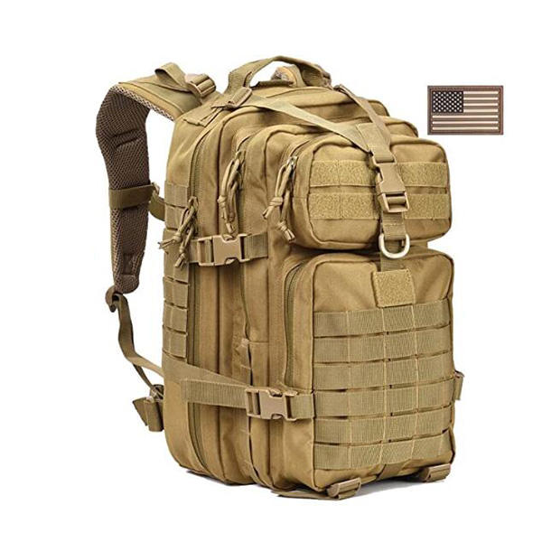 120L Us Amercian Desert Camo Alice Pack Military Backpacks With Eeuu Flag