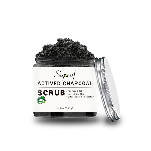 Private Label beauty facial mask sheet black color Bamboo charcoal Scrub for face