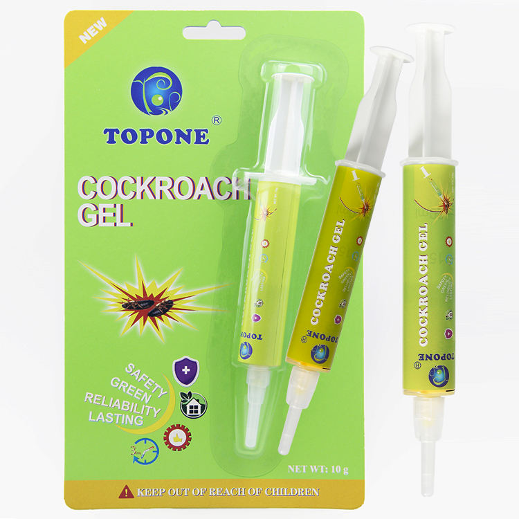 TOPONE BRAND Effective insecticide cockroach killer bait gel in syringes