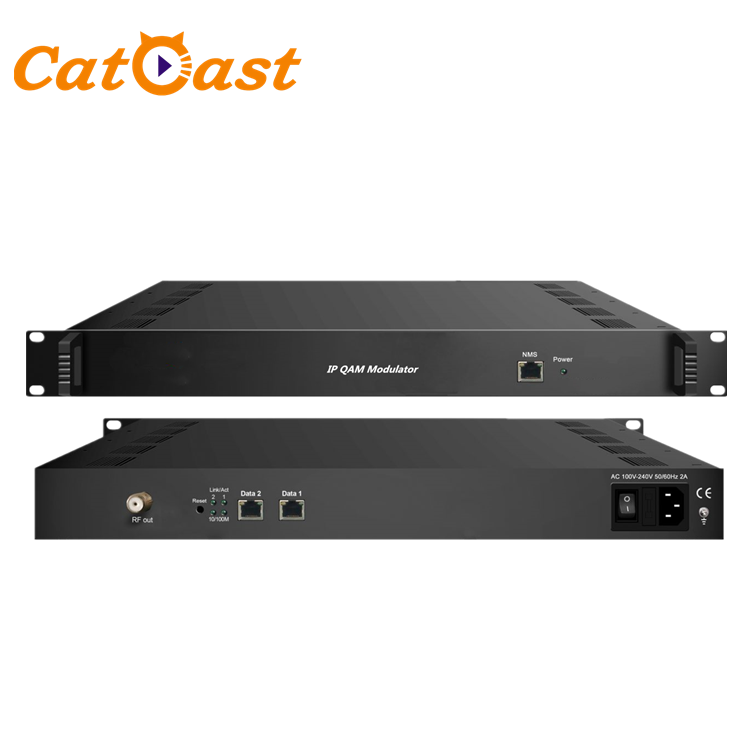 All in one device 32 in 1 CATV Digital Cable TV IP QAM Modulator