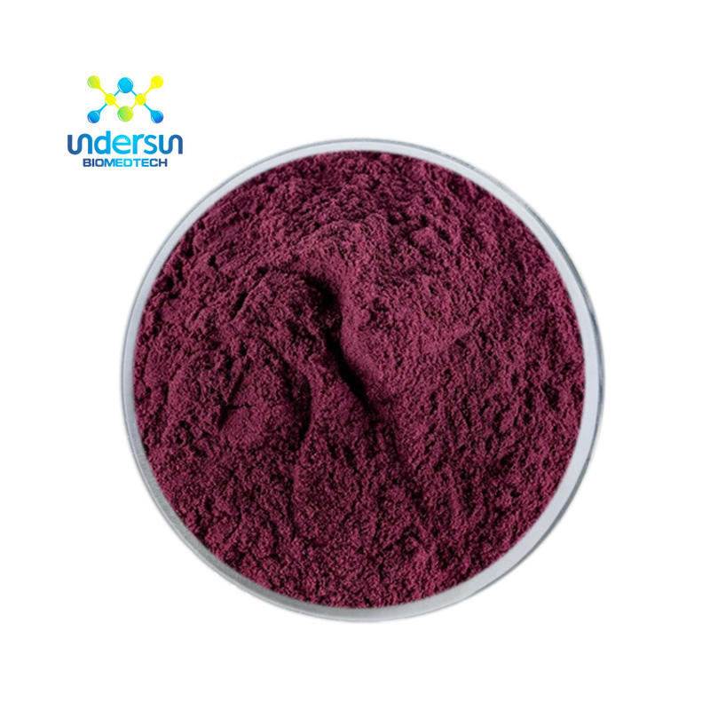 100% Natural Frozen Dried Blueberry Juice Powder Instant Blueberry Fruit Powder