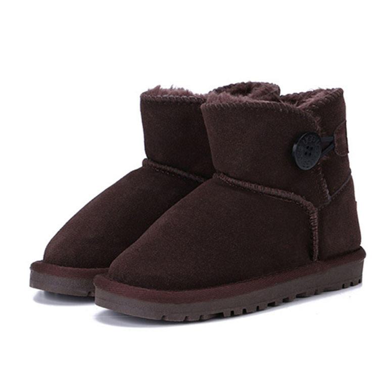 Factory direct wholesale kids fur boots fur boots for little girls rabbit fur boots