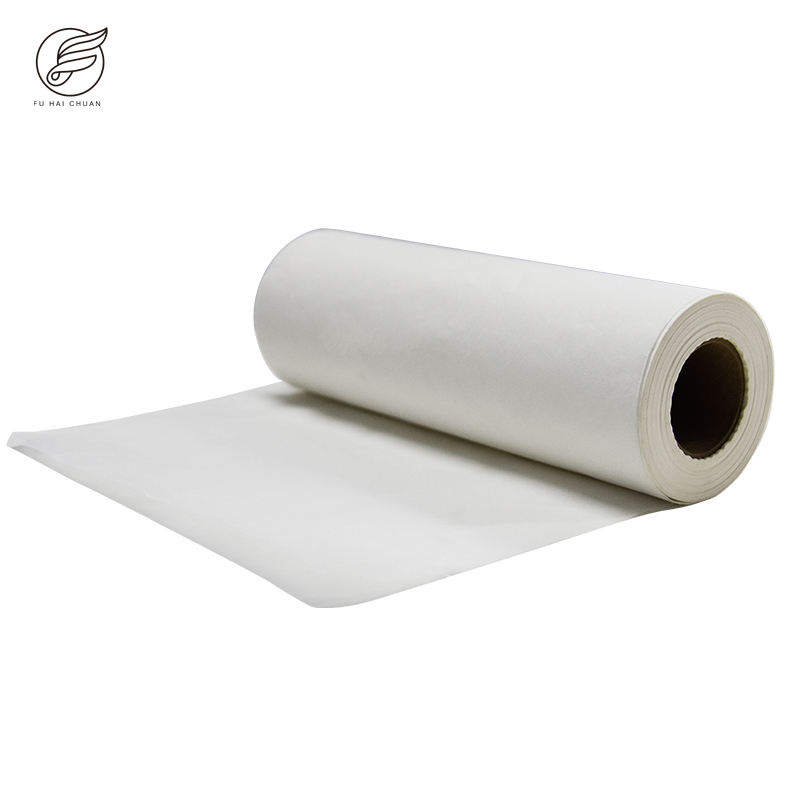 2021 Original Factory Couch Paper Roll Kraft Paper Roll Customize Size Printing Logo Disposable Craft Paper Bed Sheet Roll