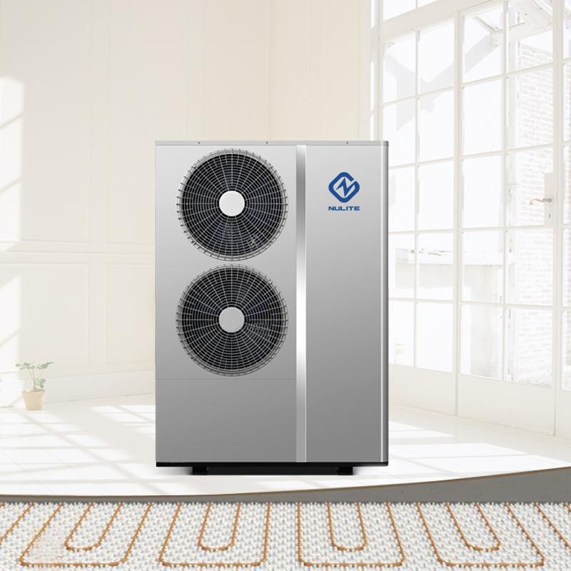 10KW 11KW All In One Air Source Heater Floor DC Inverter Air To Water Heat Pump Water Heater
