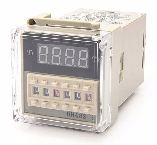 ODM Dh48S-S Timer Relay/12 V Relay Counter/Waktu Accumulator