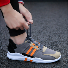 Outdoor Walking Breathable Lace Up Men's Casual Shoes