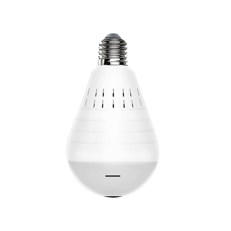 360 degree HD panoramic intelligence wireless wifi camera spy light bulb hidden camera home security