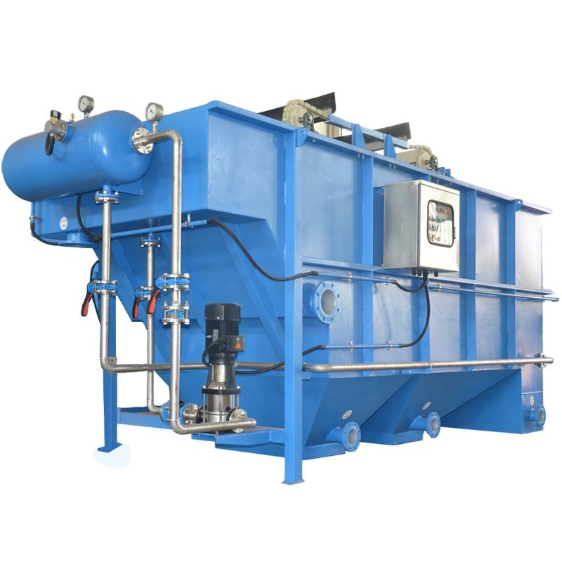 Packaged Water Treatment Unit DAF system with Electro Coagulation EEC EEO Treatment Waste Water Sewage