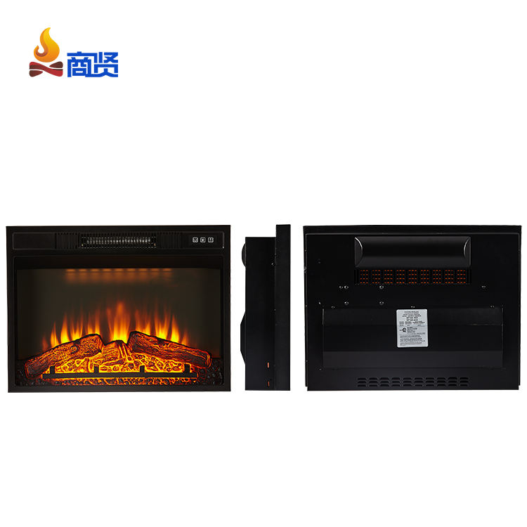 New Temperature adjustable remote controls Electric Fireplace