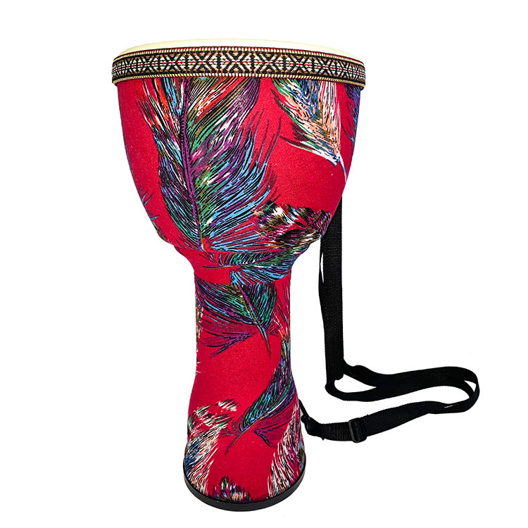 National Style Percussion African 8.10.12 Inch Djembe Drum Portable Drum