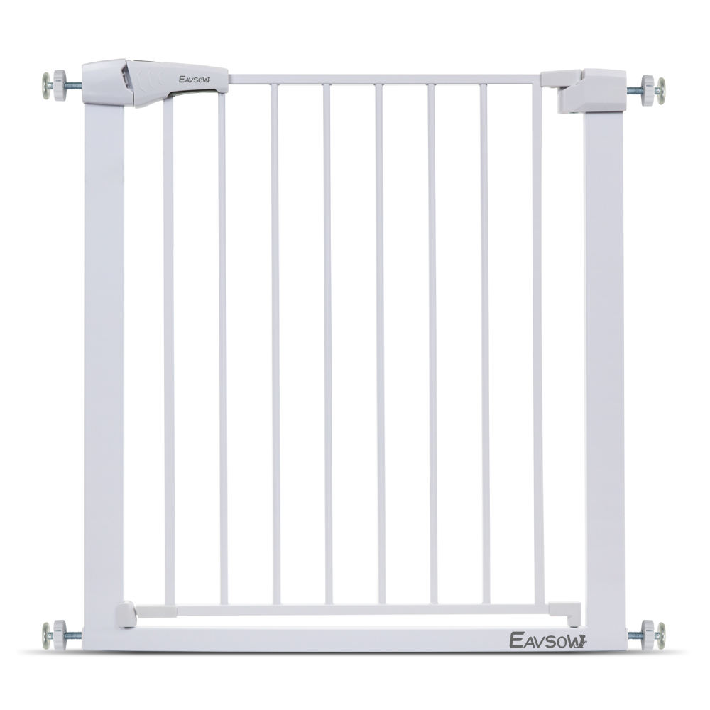 Pressure mounted safety baby stair gate