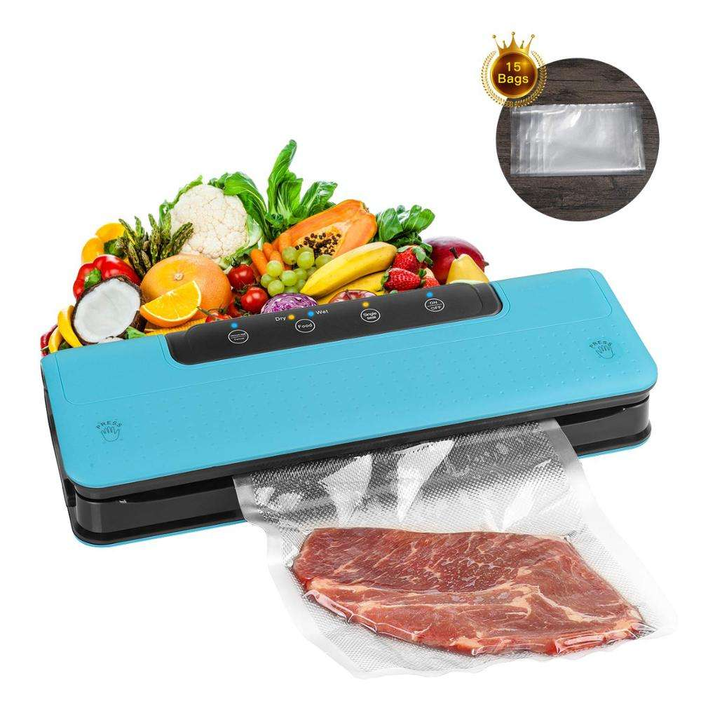 Household Portable Vacuum Packing Machine Electronic Automatic Kitchen Handheld Mini Home Vacuum Food Sealer