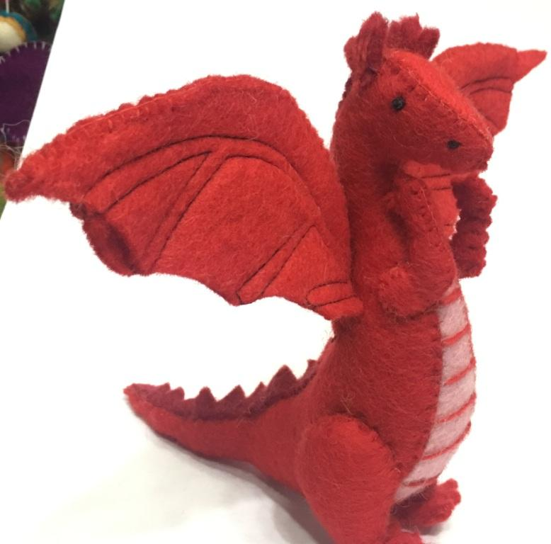 100% Woolen Felt Dragon/Latest Design of Felt products/New design Of felt Dragon In Nepal