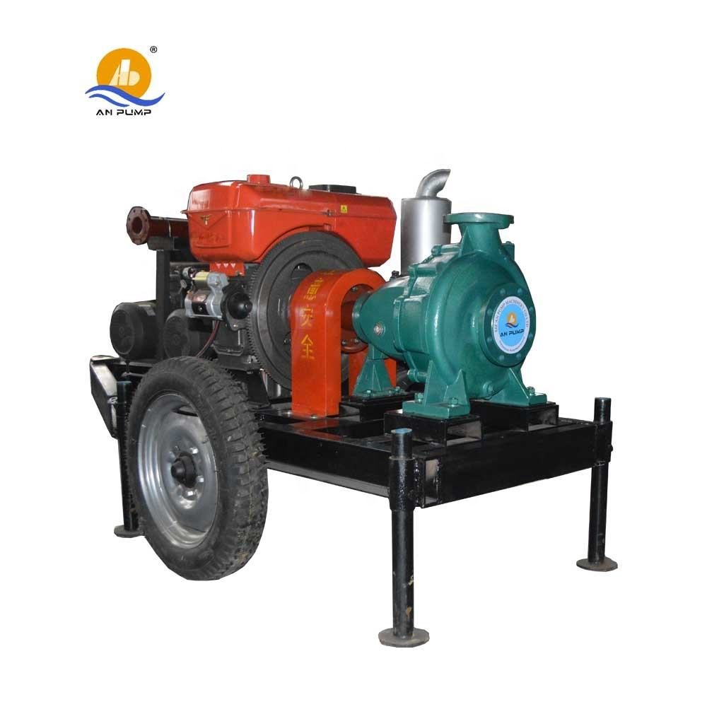 2 4 6 8 inch farm agriculture irrigation diesel water pump