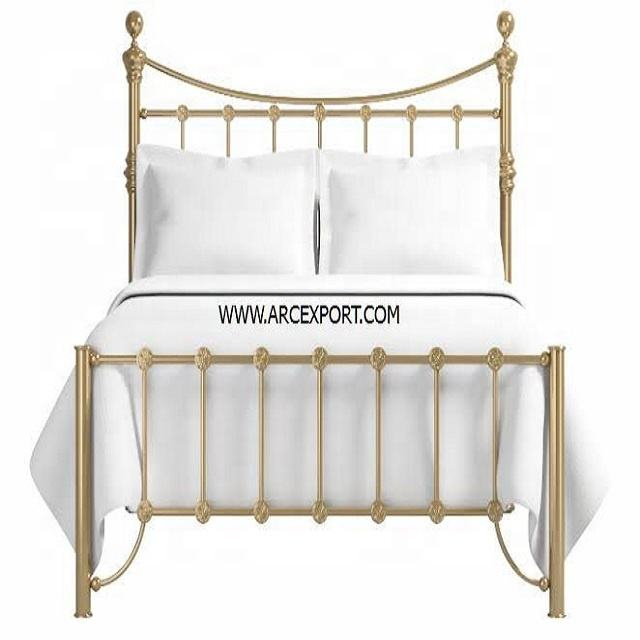 gold plated metal bed & furniture