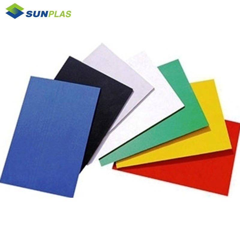 SUNPLAS abs antibiosis plastic 1mm sheet board thermoforming