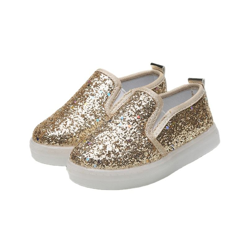 Wholesale Fit Kids Glitter Light Shoes