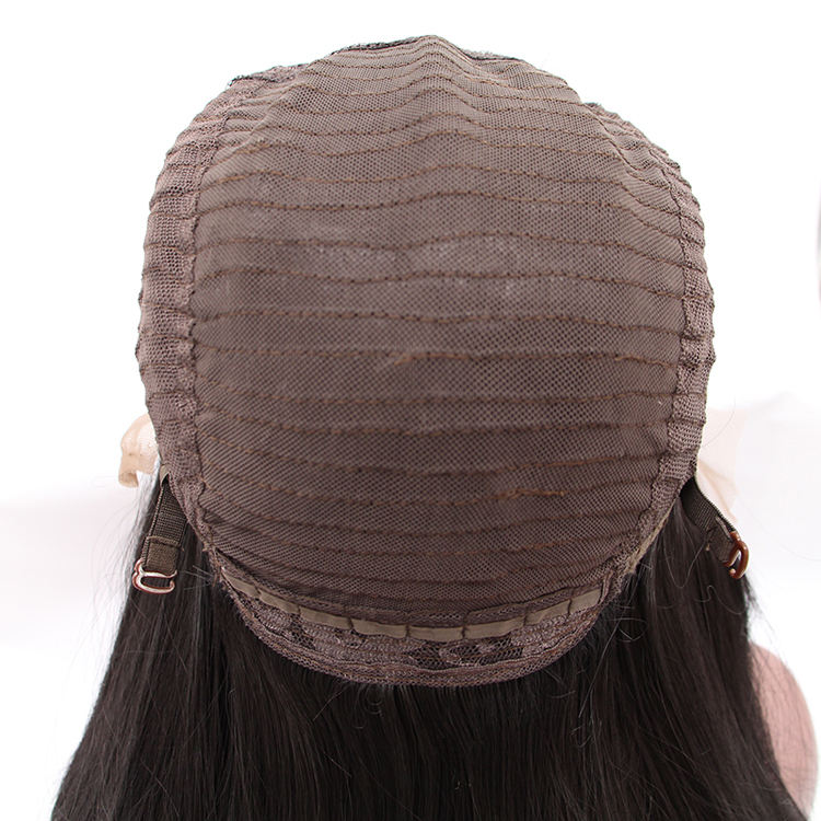 Natural Looking Virgin Brazilian Human Hair Full Lace Wig