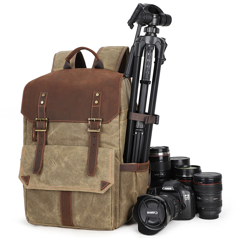 Professional Waterproof Dslr Camera Bag Travel Outdoor Camera Backpack With Laptop