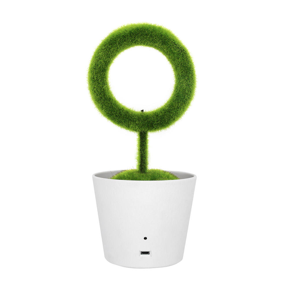 Ionkini JO-732 Personal Clean Air Ionizer Office Green Plant Air Purifier