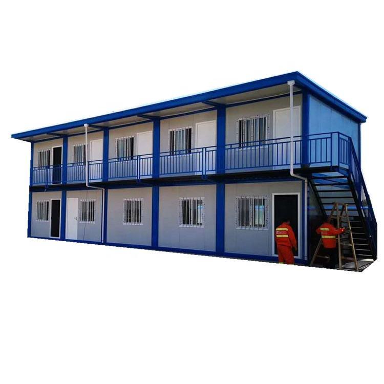 Nuevo diseño envío contenedor hotel contenedor casa edificio dos historia contenedor de edificio de <span class=keywords><strong>oficinas</strong></span>