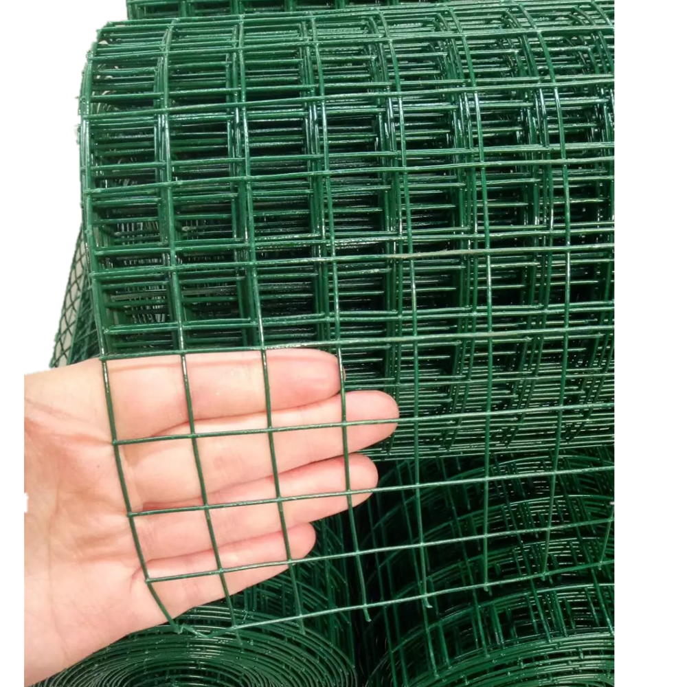 PVC Coated Hot Galvanized Welded Iron Wire Mesh for Fencing