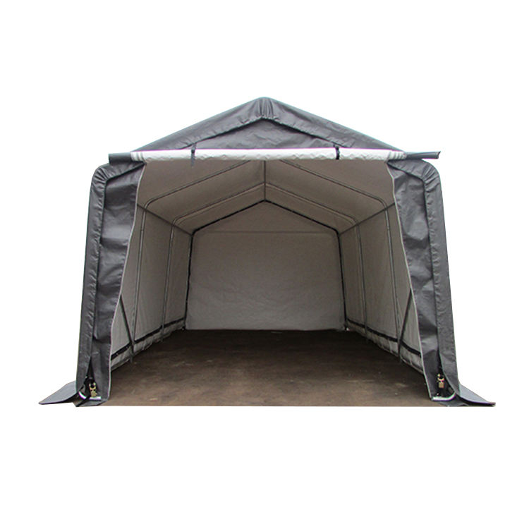 12'Wx20'L new design dome tents in China car parking garage portable shelter