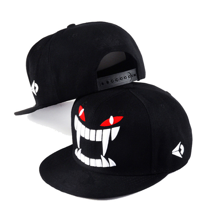 Wholesale fashion custom 3d embroidered men Hip Hop snapback caps baseball hats