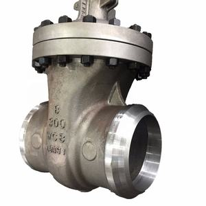 Slide butt weld 8 inch gate valve with prices