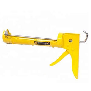 600ml skeleton caulking gun with rubber handle