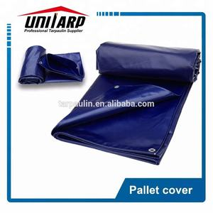 Reusable 1000*1000D 18*20 PVC Coated Tarp with Eyelet Pallet Cover