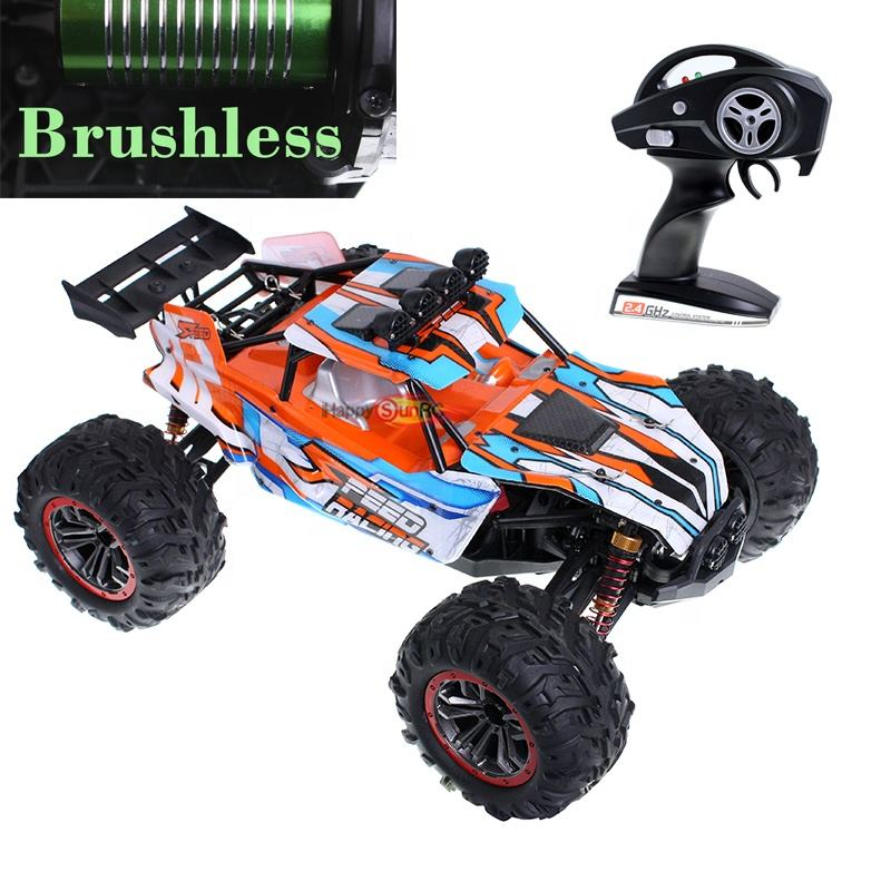 1 10 rtr 4x4 4wd radio control high speed r c car brush less motor waterproof esc 2.4g 35 mph electric rc truggy brushless