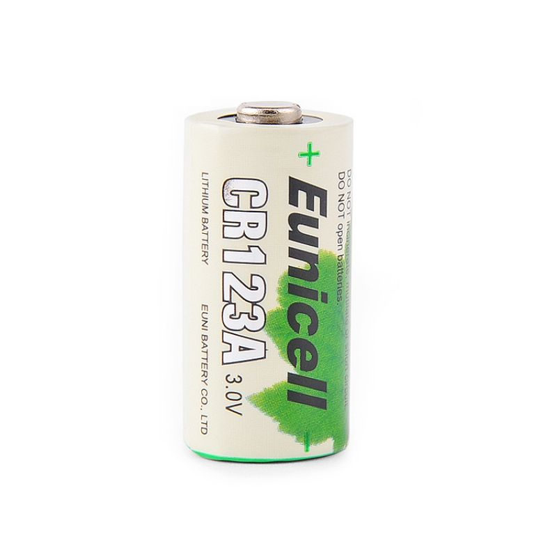 3v non rechargeable LiMnO2 battery lithium Batteries 16340 CR123A for Flashlights Torch 1500MAH