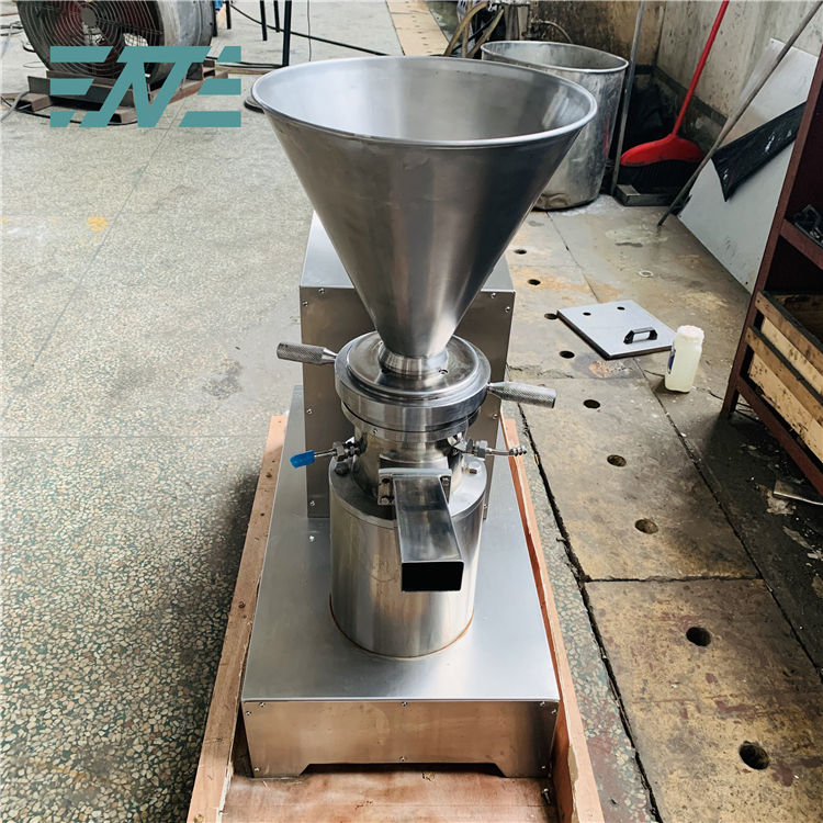 Professional liquid peanut butter making colloid mill emulsifying milling machine with high quality