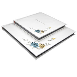 Factory Price Highgrade Leather Wedding Photo Album fancy photo album