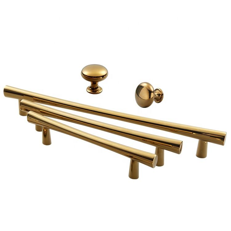 YONFIA New luxury furniture drawer handle pull rose gold cabinet handles furniture handle