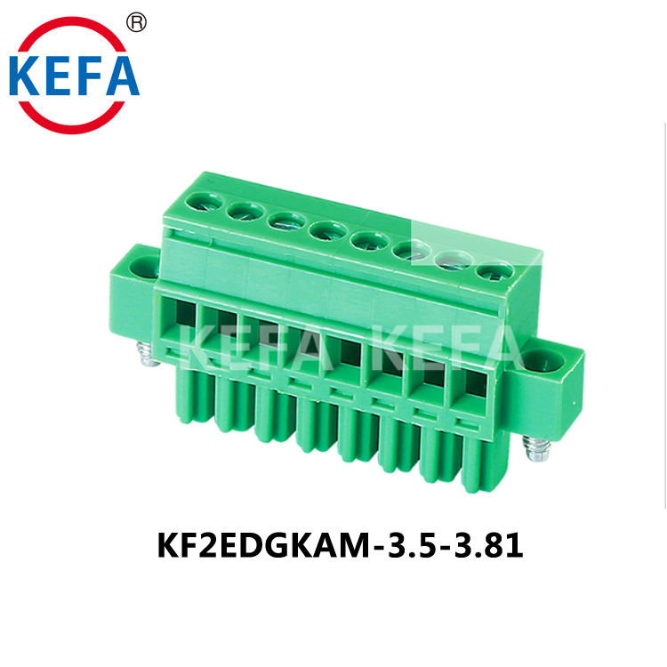High Quality 2-24 Pin 3.5mm Pitch Pluggable Electronic Components Plug-in Connector Terminal Block