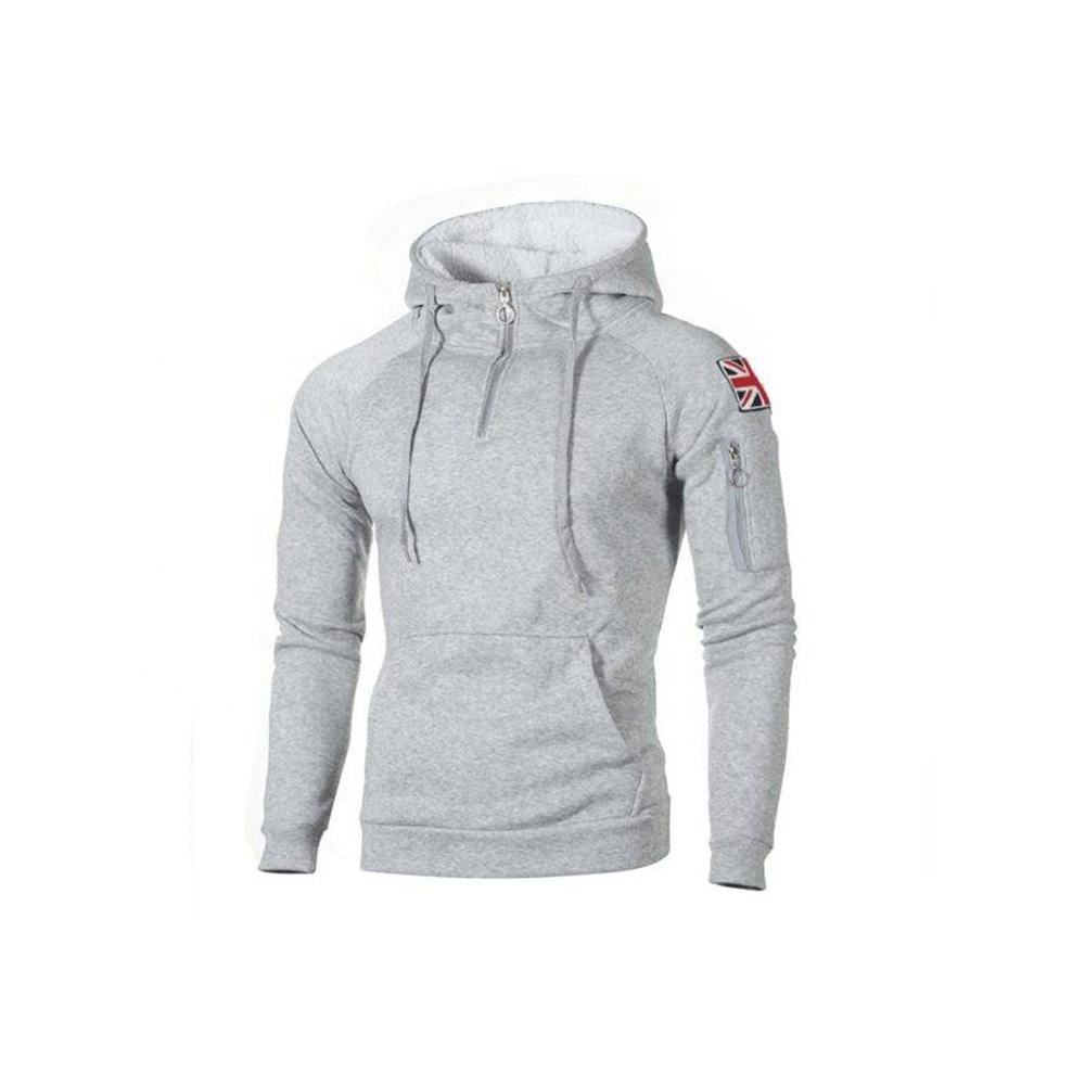 custom clothing manufacturers mens clothing hoodies fashion street wear 100% cotton french terry printing hoodies