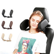 U Shaped Car Neck Headrest Pillow Seat Use Support for Cars Sleeping Adjustable Rest Back Folding Cushion