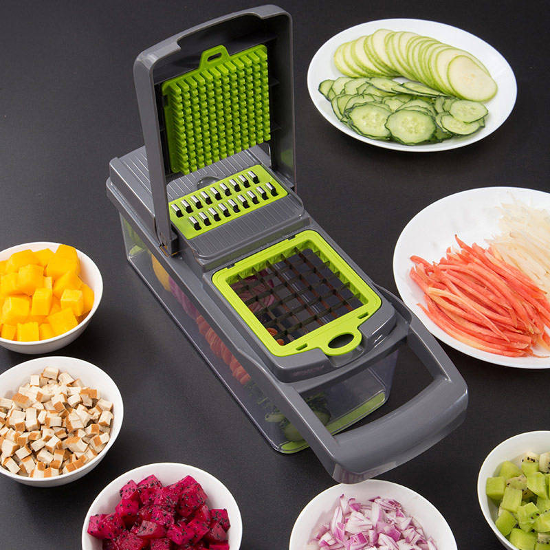2019 Amazon venda quente Nova Magia Slicer Vegetal/Vegetal Chopper / veg slicer