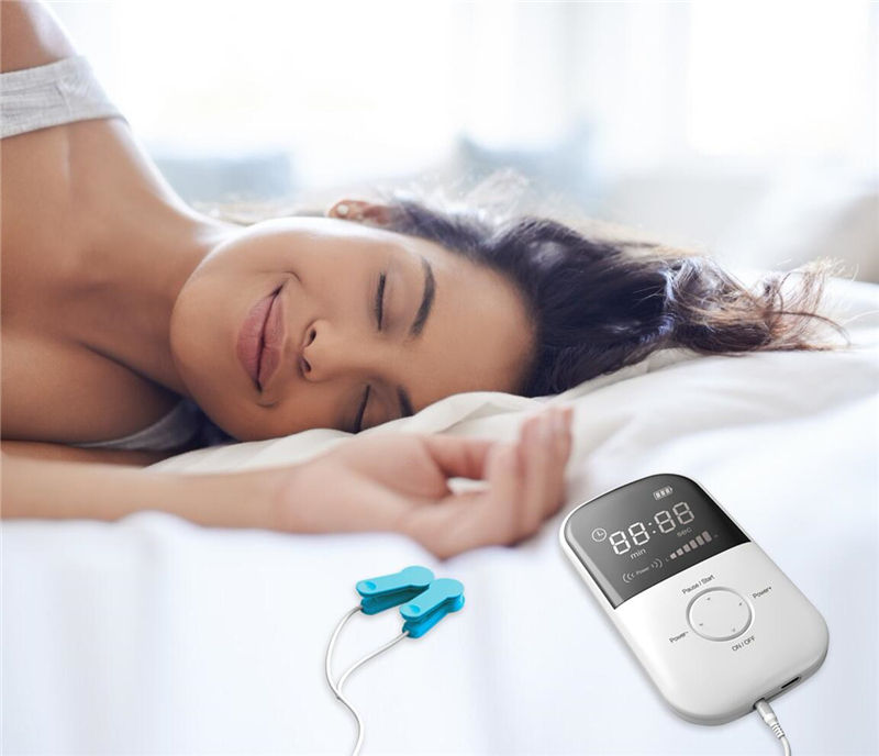 High Techonology Sleep Aid Device Insomnia Disorder Treatment Brain Stimulator Depression Physical Therapy Equipment