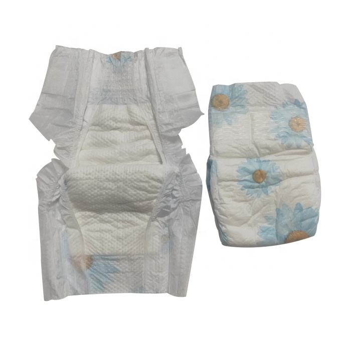 Dry surface A grade wholesale OEM customize printed baby diapers disposable