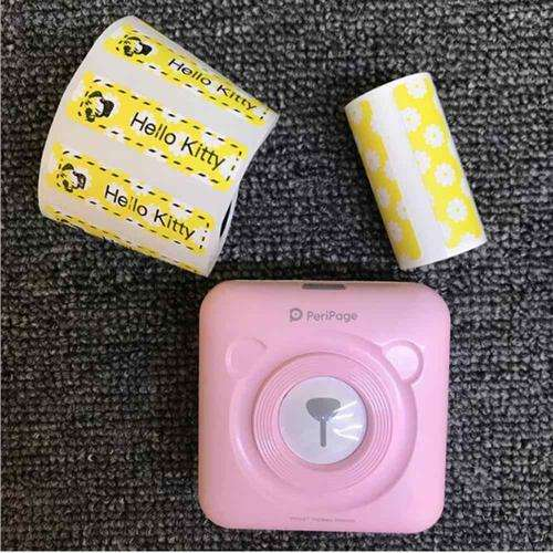 original Peripage A6 mini photo printer portable