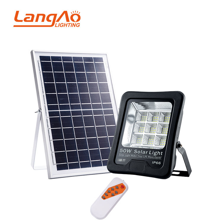 Most powerful with ce rohs waterproof ip66 outdoor IP66 50w 100w 200w solar led flood light